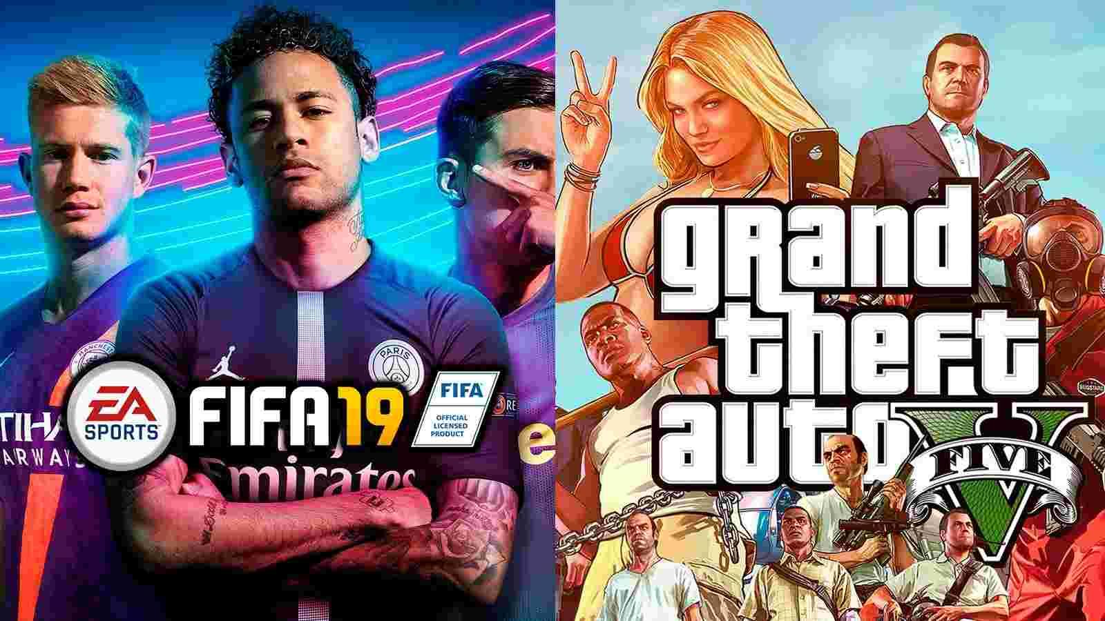 Grand Theft Auto V e FIFA 2019 são os jogos mais vendidos de 2019 em Portugal e no Brasil 7