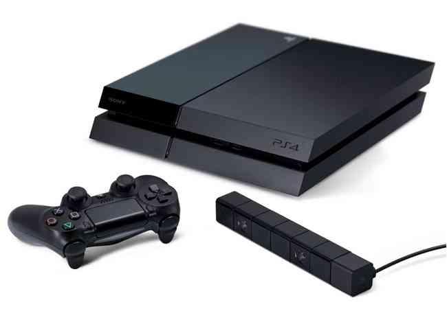PlayStation 4 Fat com controle dualshock 4 e um  PlayStation Camera