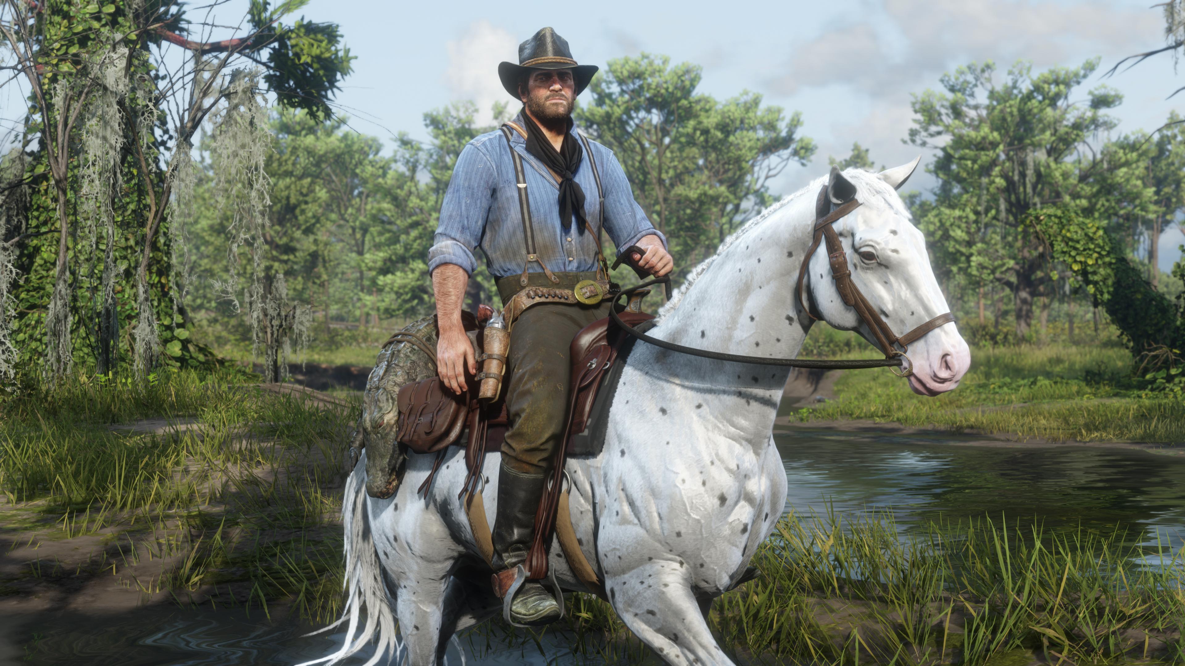 O jogo vai ser lançado a 5 de Novembro, mas a Rockstar Games já prometeu que até lá, iremos ter um trailer em 4K, mostrando melhor os gráficos de Red Dead Redemption 2 no PC.