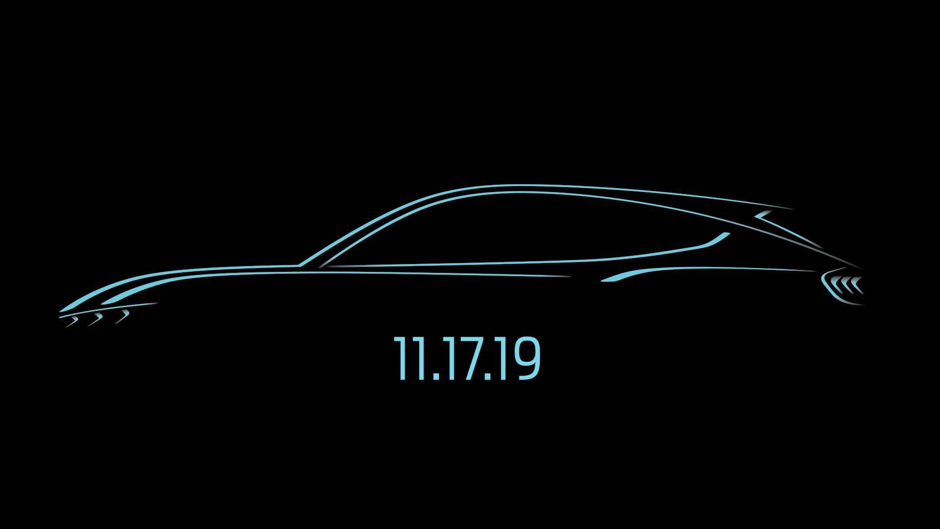 O modelo elétrico inspirado no Ford Mustang tem previsão de chegada no mercado no 2º semestre de 2020 e terá autonomia de 600 km.