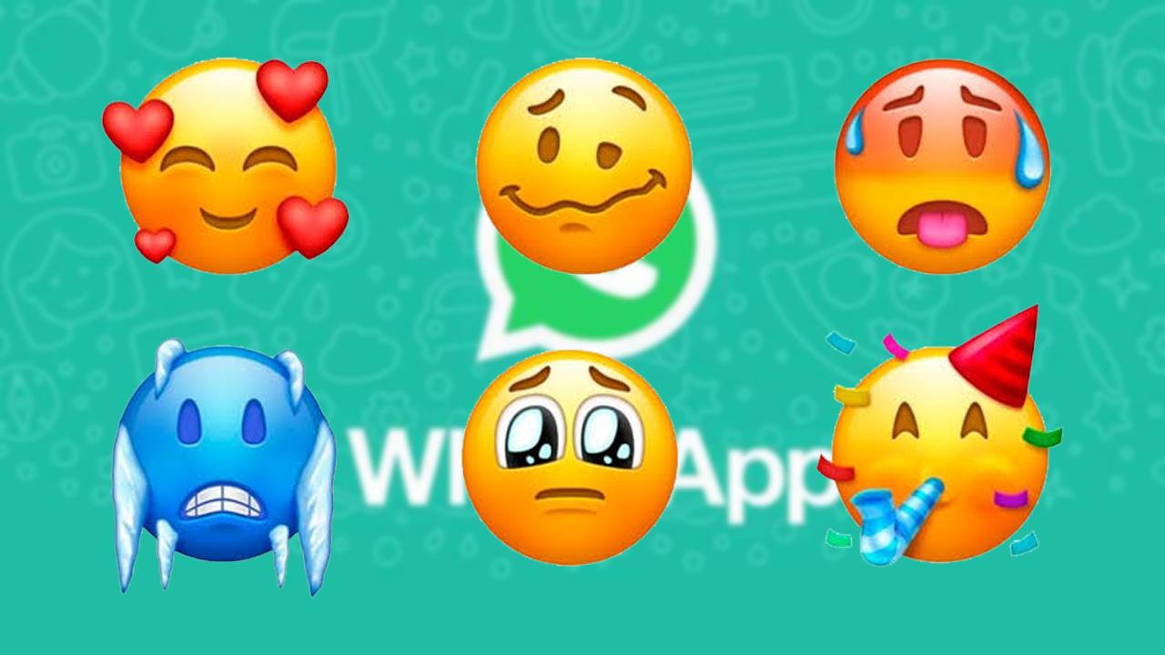 Novos emojis do WhatsApp