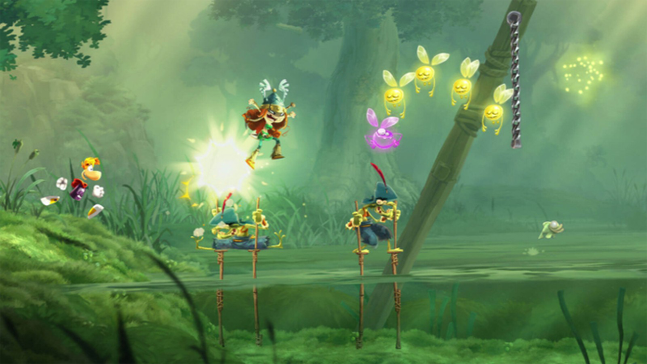 Gameplay Rayman Legands