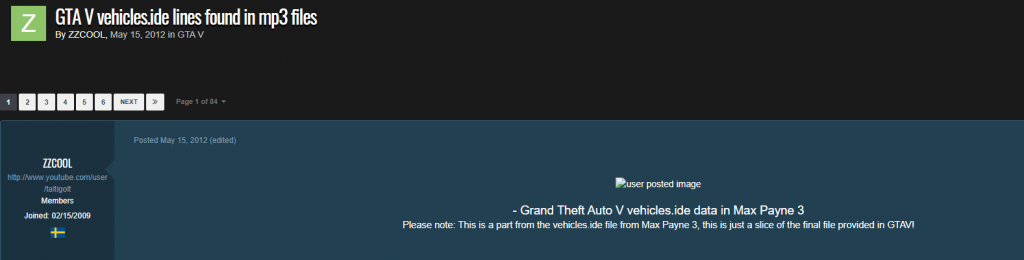 Carros de GTA 5 no Max Payne 3