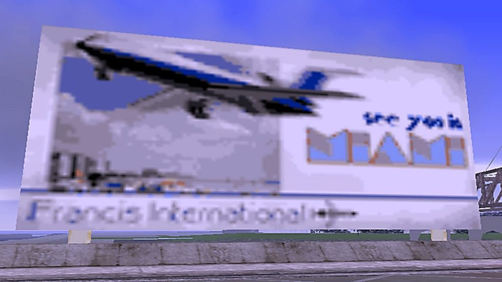 Pistas de GTA Vice City em GTA 3