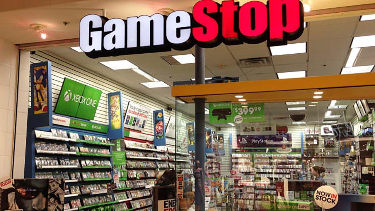 Imagem da frente de loja GameStop