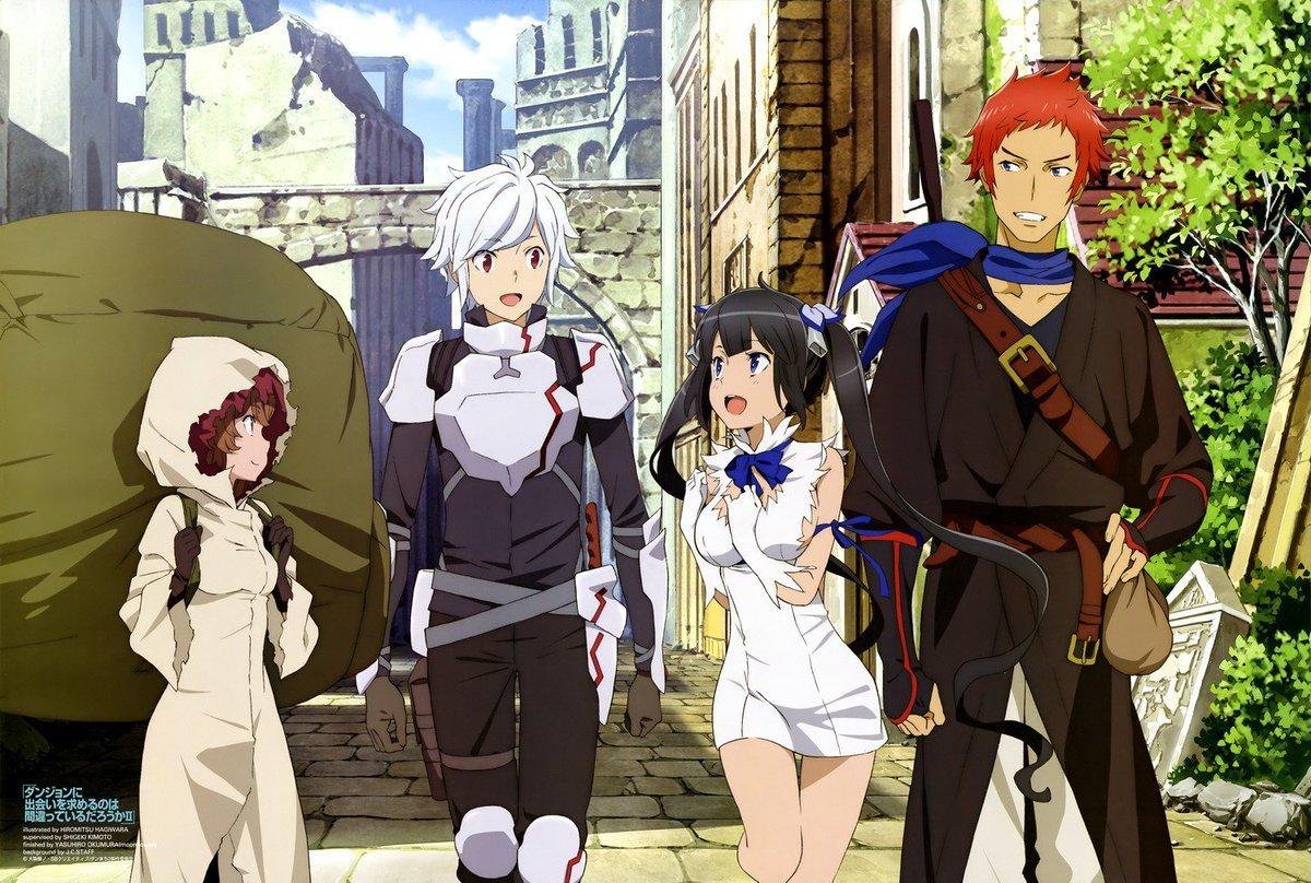 DanMachi ganha anuncio sobre a terceira temporada, junto com um trailer e o lançamento de um OVA especial com data marcada.