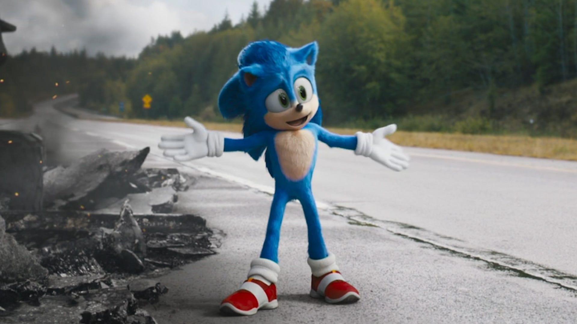 A Paramount ouviu os fãs, alterando o desing do Sonic, e estes foram em peso aos cinemas assistir a estreia do filme do ouriço azul.