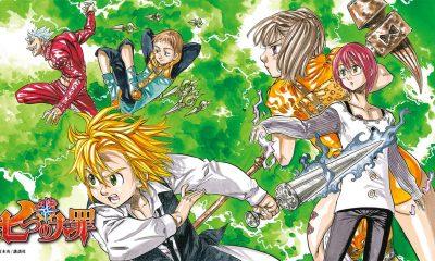 A Weekly Shōnen Magazine revelou que Nanatsu No Taizai de Nakaba Suzuki terminará na próxima edição da revesita em 25 de março.