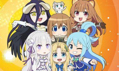 O 12º e último episódio de Isekai Quartet 2 revelou que a série vai ter uma continuação. Apesar de ainda não haver uma data de lançamento.