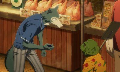 No 6º episódio da 1º temporada de Beastars, os amigos de Legoshi conseguem sair da escola e acabam entrando em um mercado negro.