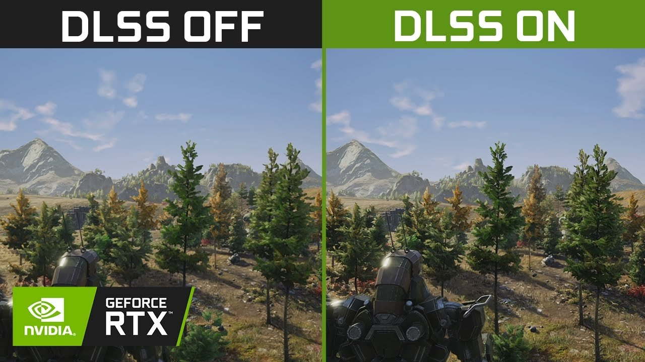 O DLSS 2.0 é uma nova inteligência artificial criada pela NVIDIA para aumentar a qualidade gráfica dos jogos melhorando também a performance.