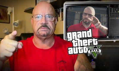 Larry ao analisar a missão do golpe à Joalharia de GTA 5 percebeu várias inconsistências, que facilmente fariam os personagens serem pegos.