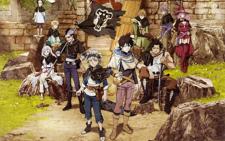 A revista Shonen Jump conseguiu reafirmar o que foi relatado anteriormente sobre o retorno à trasmissão do anime Black Clover.
