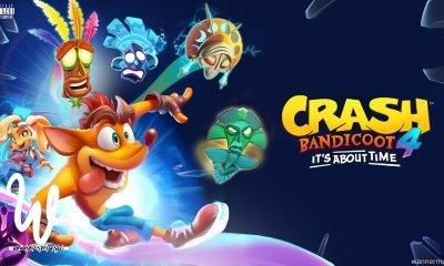 Data de lançamento confirmada! Como o nome indica, Crash Bandicoot 4: It's About Time tem uma trama de viagem no tempo.