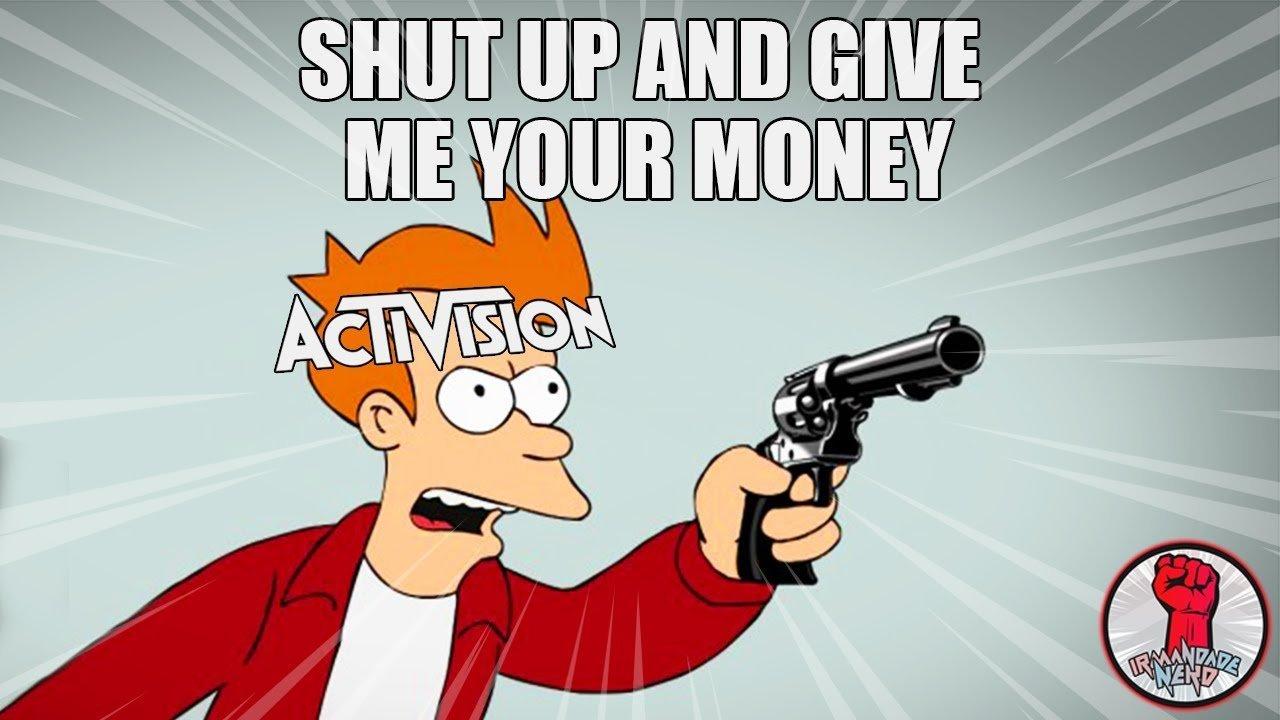 Empresas de Games vs. Consumidor: Shut Up And Give Me Your Money!