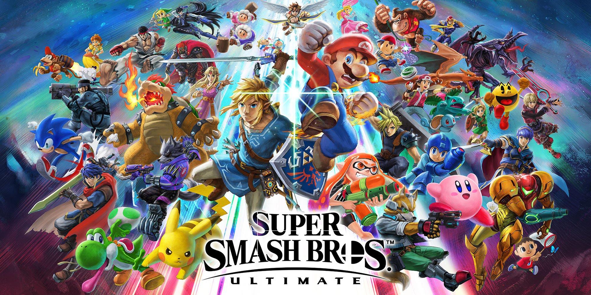 Pesquisa criada pela Source Gaming mostra quais os personagens que os fãs desejam que tenham no Super Smash Bros. Ultimate.