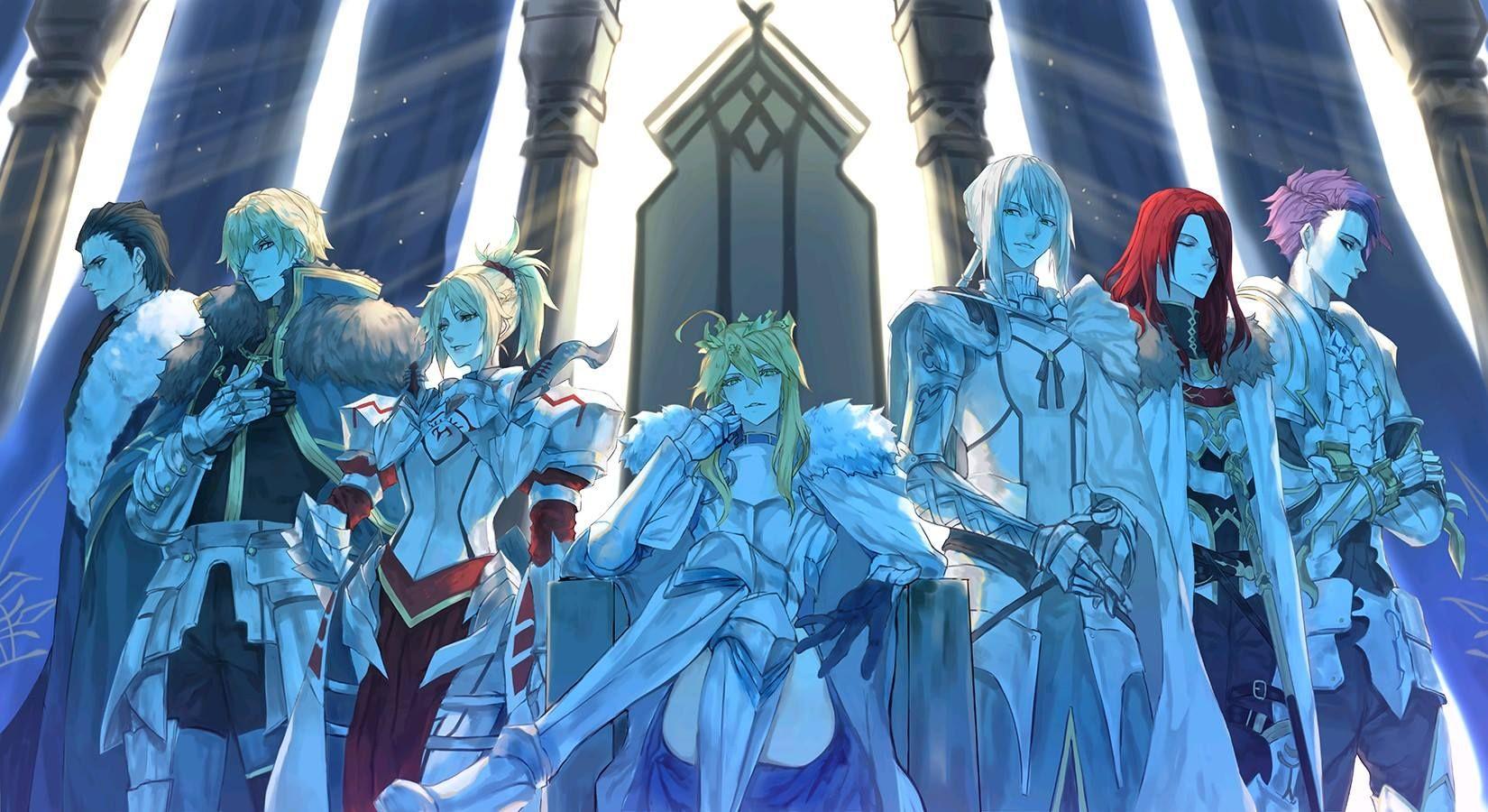 Foi anunciado no site oficial da adpatação para filme anime de Fate/Grand Order: Camelot, que o mesmo será adiado por tempo indetermeinado.