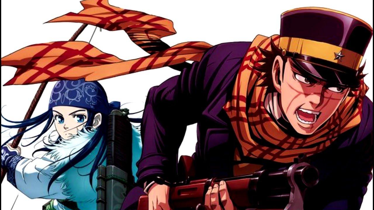 A capa do 22º volume do mangá Golden Kamuy 3de Satoru Noda veio acompanhada de uma imagem promocional com a confirmação da 3 ªtemporada.