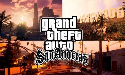 GTA San Andreas | Fãs recriam jogo na Unreal Engine 4 e resultado é incrível 1