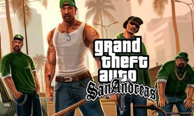 A Rockstar Games fez algumas mudanças no seu website oficial, ao entrar na área de jogos da produtora, GTA San Andreas desapareceu.