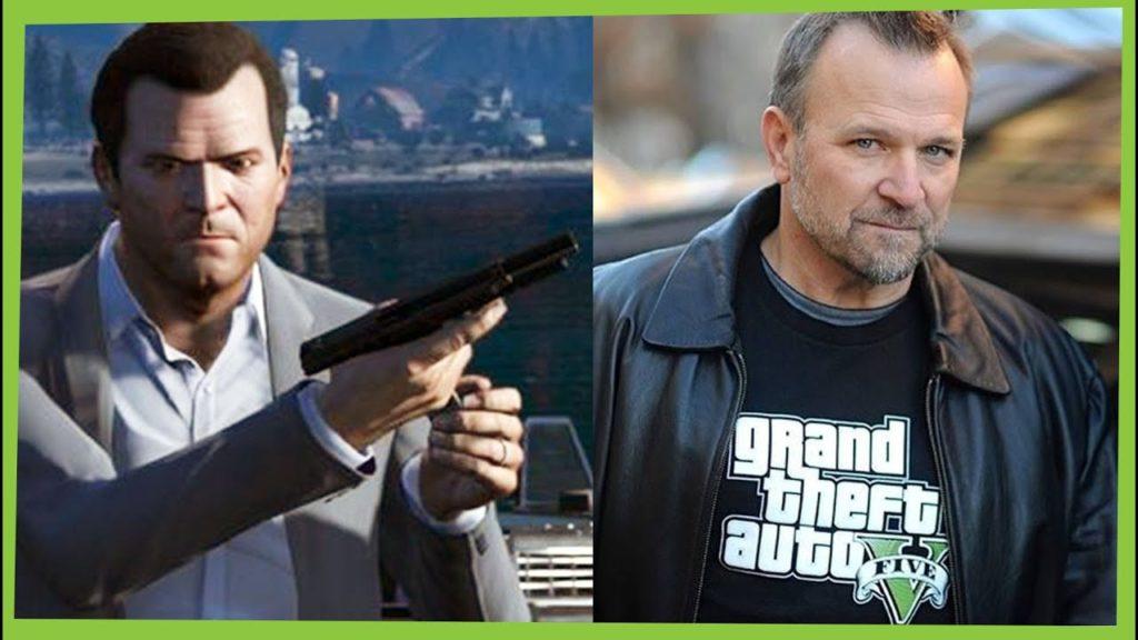 O ator Ned Luke foi responsável por Michael de Santa em Grand Theft Auto 5.