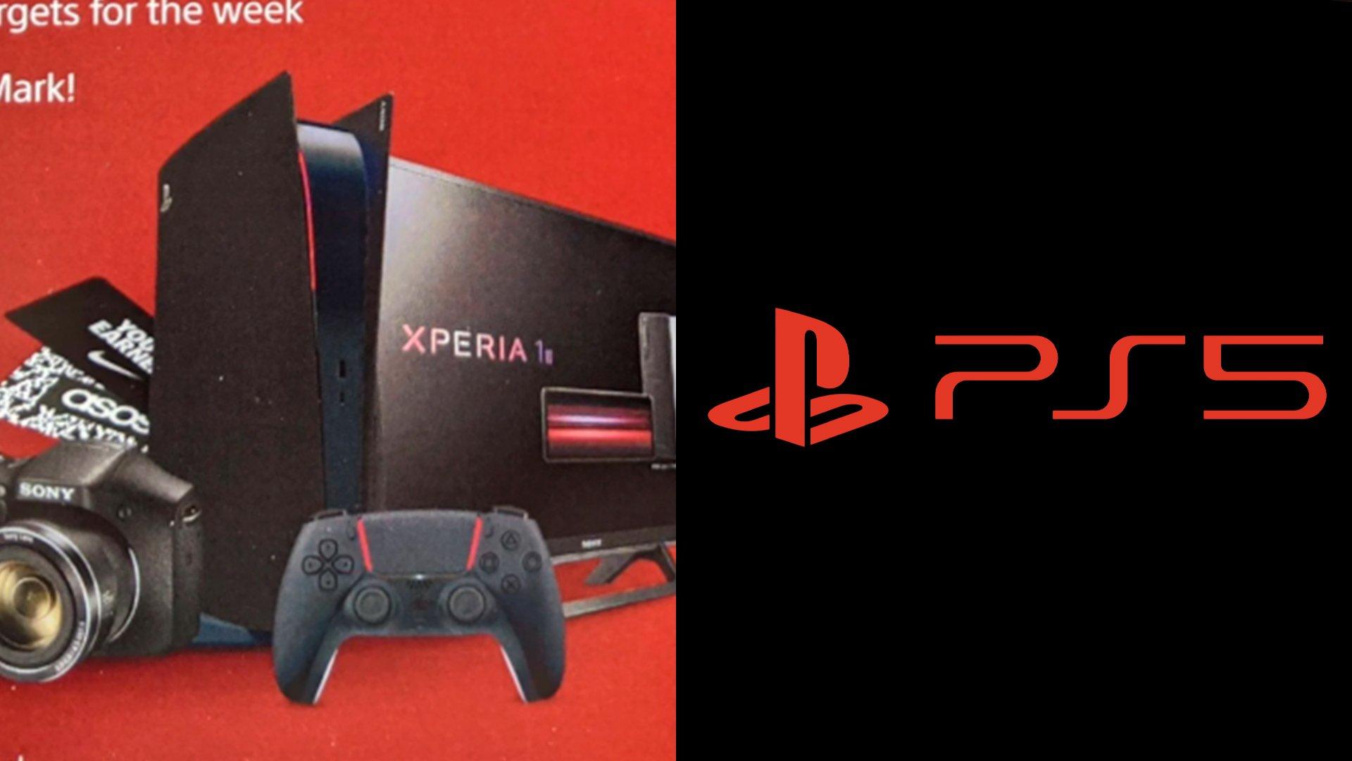 A Sony revelou uma cor para a PlayStation 5, no entanto surgiu um material de marketing que mostra o console com as cores pretas e vermelhas.