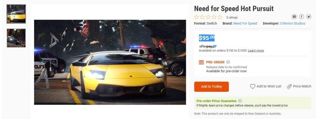 Need For Speed Hot Pursuit Remaster será uma realidade?