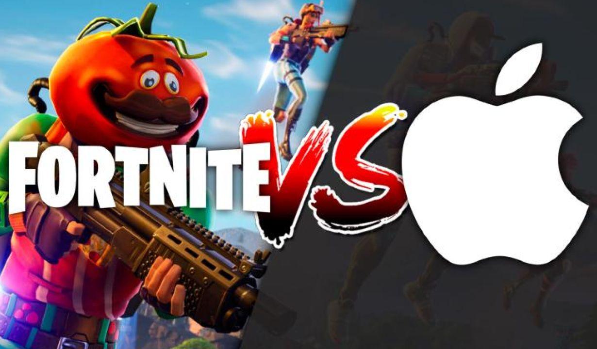 A Epic games declara oficialmente guerra contra a Apple, após diversas desavenças contra as politicas de compra no app do Fortnite.