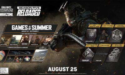 Acaba de ser anunciada a maior atualização da 5°temporada de Call of Duty: Warzone, que trara dezenas de conteúdos competi-vos.