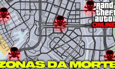 AS ZONAS DA MORTE SECRETAS DE GTA ONLINE!