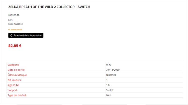 Breath of the Wild 2 | Loja lista edição de colecionador do game 1