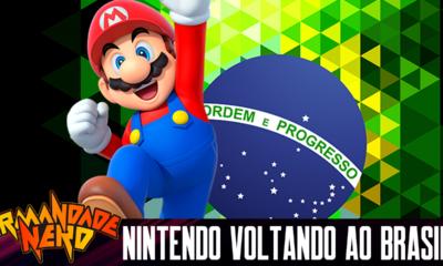 Nintendo Voltando ao Brasil e o Mercado Brasileiro de Jogos
