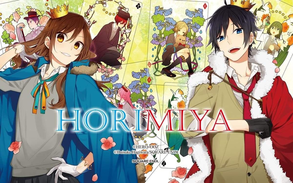 """O site oficial da adaptação para anime do mangá spin-off """"Horimiya"""" revelou seu primeiro vídeo promocional."""