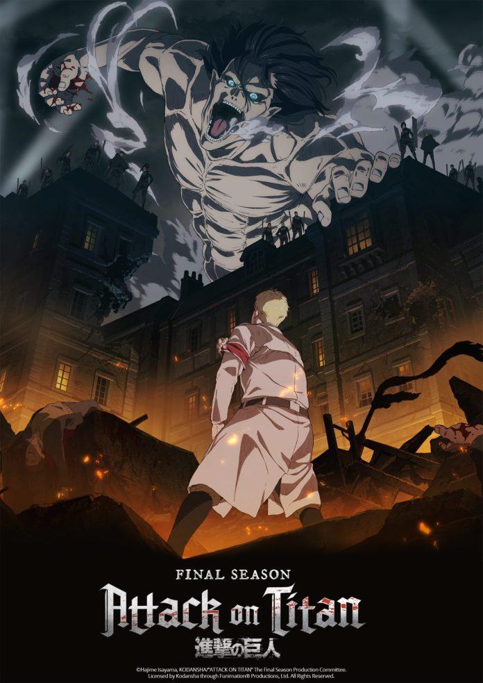 Shingeki no Kyojin 4 | Anime confirmado pela Crunchyroll 1