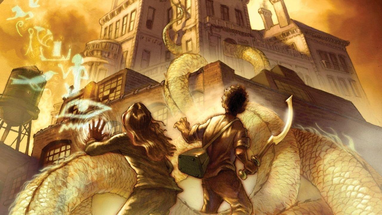 O autor Rick Riordan (Percy Jackson) revelou que a Netflix está desenvolvendo uma franquia de filmes baseada em sua saga literária As Crônicas dos Kane.