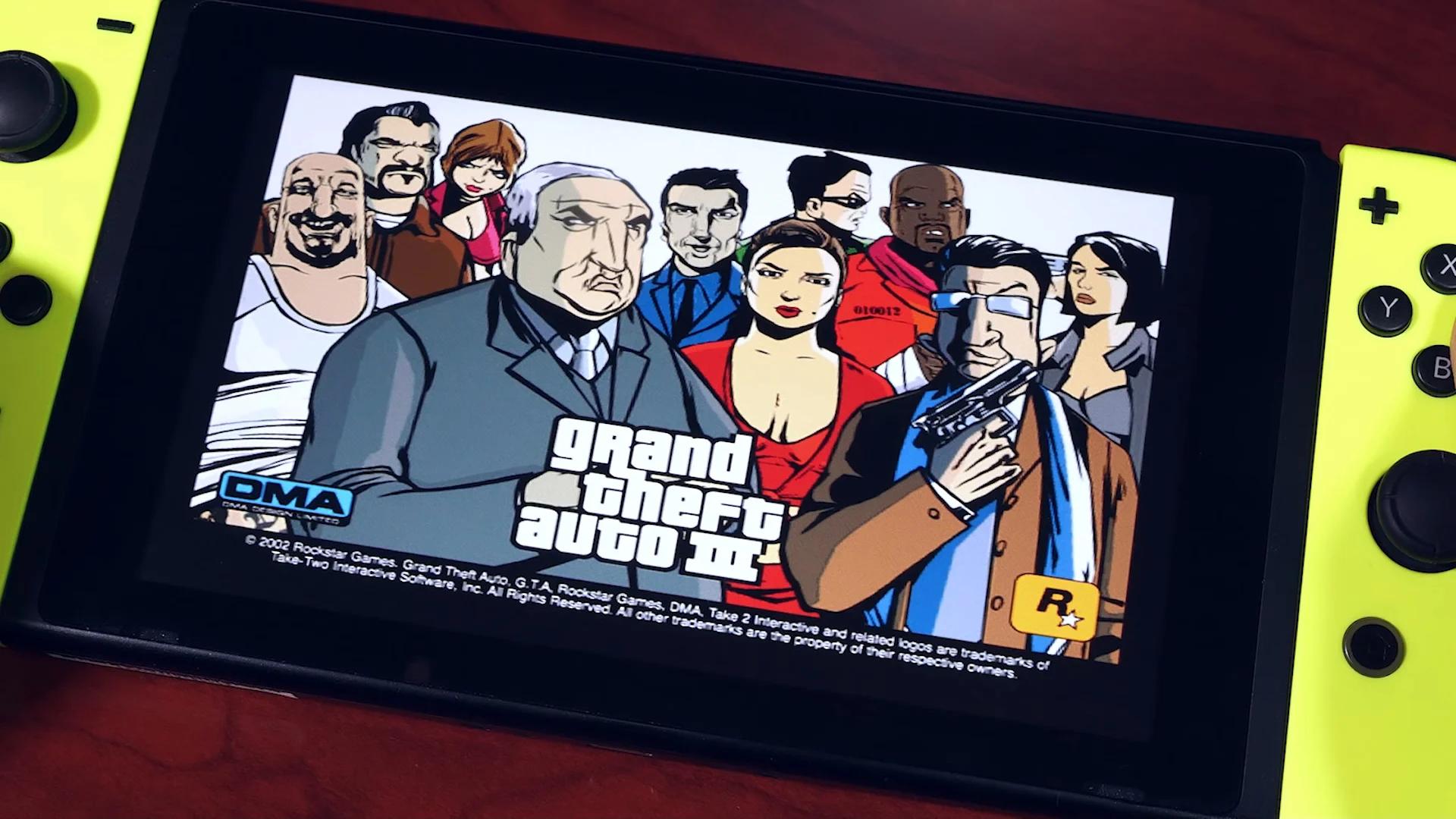 GTA 3 é portado para Nintendo Switch por fãs e está incrível 1