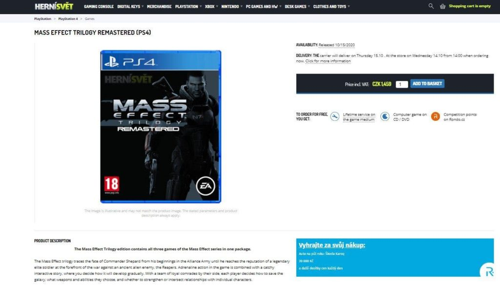 Mass Effect Trilogy | Novo vazamento torna anúncio iminente 2