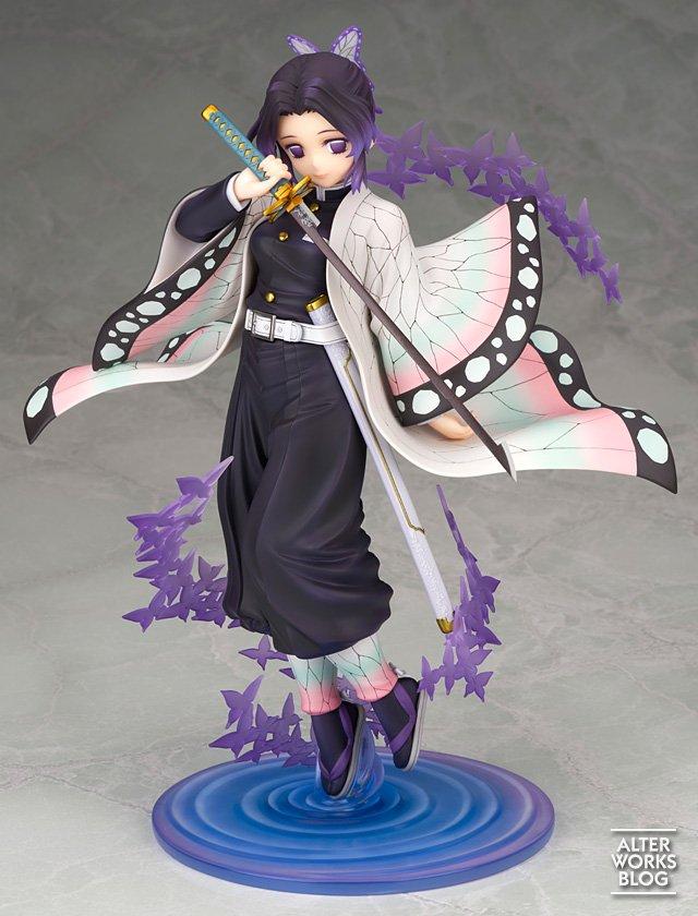 Kimetsu no Yaiba   Shinobu ganha charmosa figure em escala 1