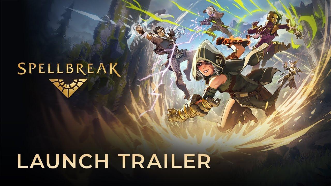 O Battle-royale mágico Spellbreak tem data de lançamento em 3 de setembro, mas ainda não está disponível em todas as plataformas listadas.