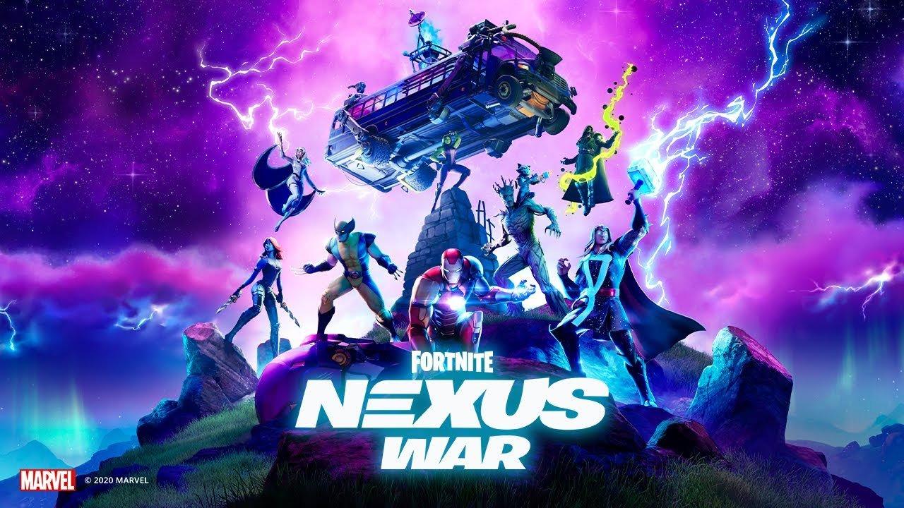 Fortnite X Marvel - Nexus War