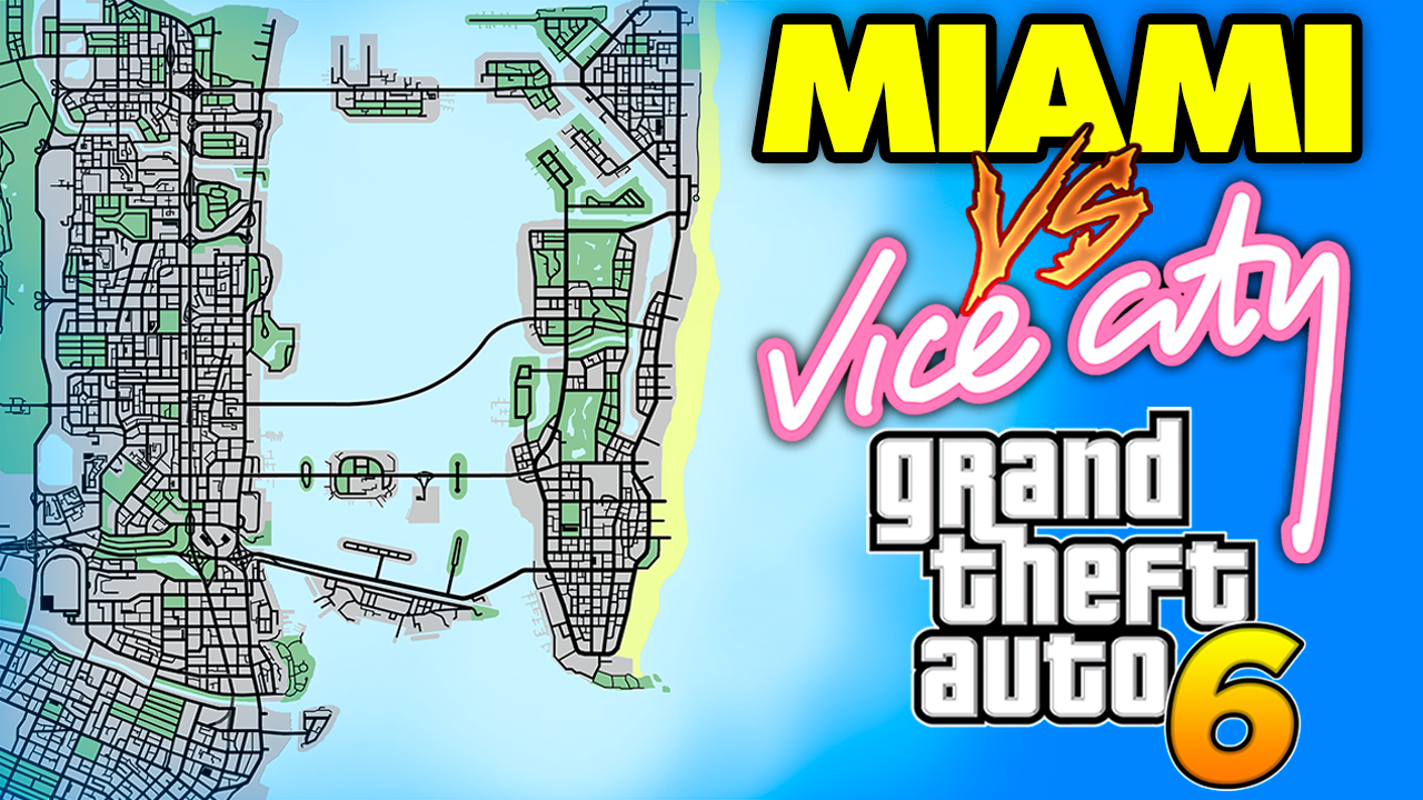 GTA 6: Vice City VS. Miami - Explorando a Cidade do Jogo na Vida Real [vídeo]
