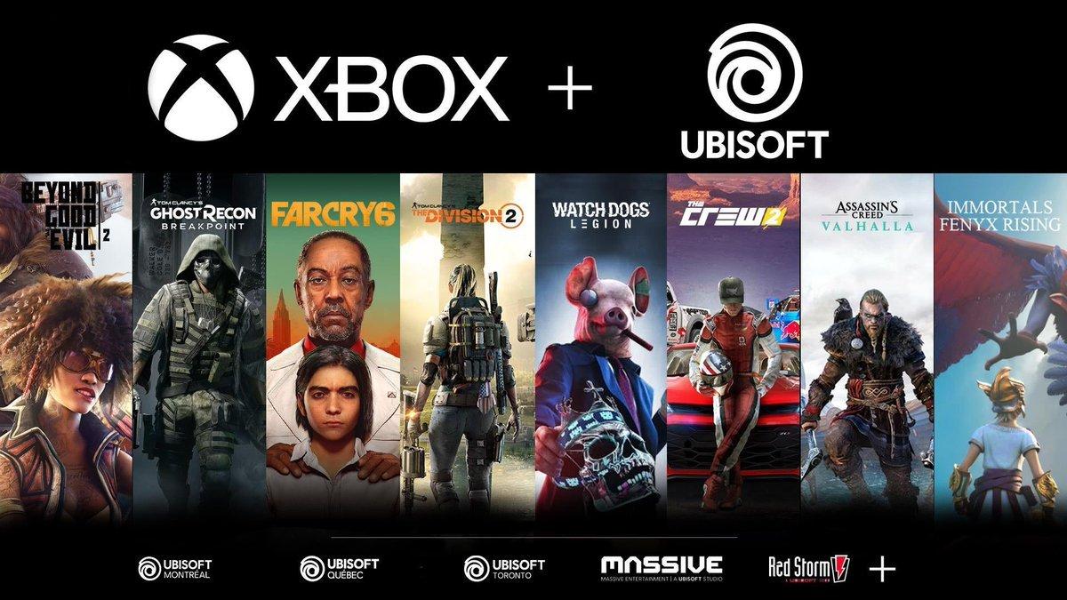 Especula-se que a Microsoft não está apenas interessada em fazer a aquisição da Ubisoft, mas realmente a está fazendo!