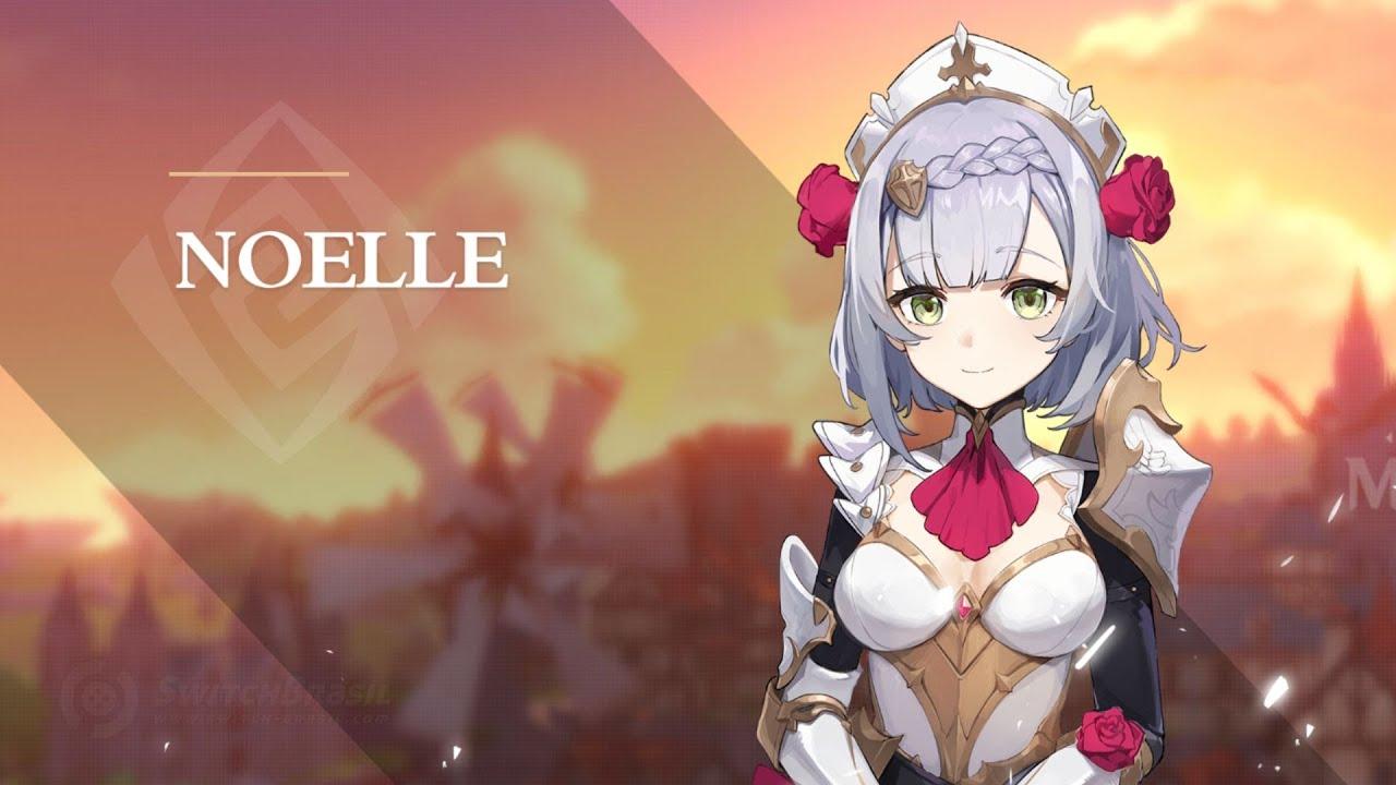 Noelle tem um dos designes mais adorados pelos fãs de Genshin Impact, e uma cosplayer recriou de maneira impressionante a personagem.
