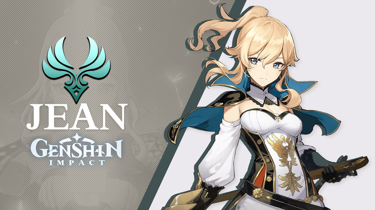 Uma das razões que fez Jean tão adorada pelos fãs de Genshin Impact, além de ser uma personagem poderosa de 5 estrelas, e seu desing!