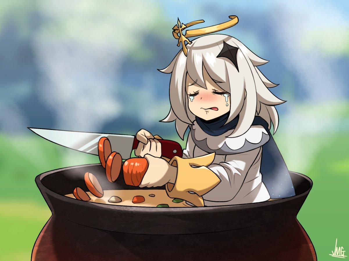 Sabemos que em Genshin Impact a Paimon é comida de emergência, mas na hora de comer sua amiguinha, quais as melhores formas de prepará-la?