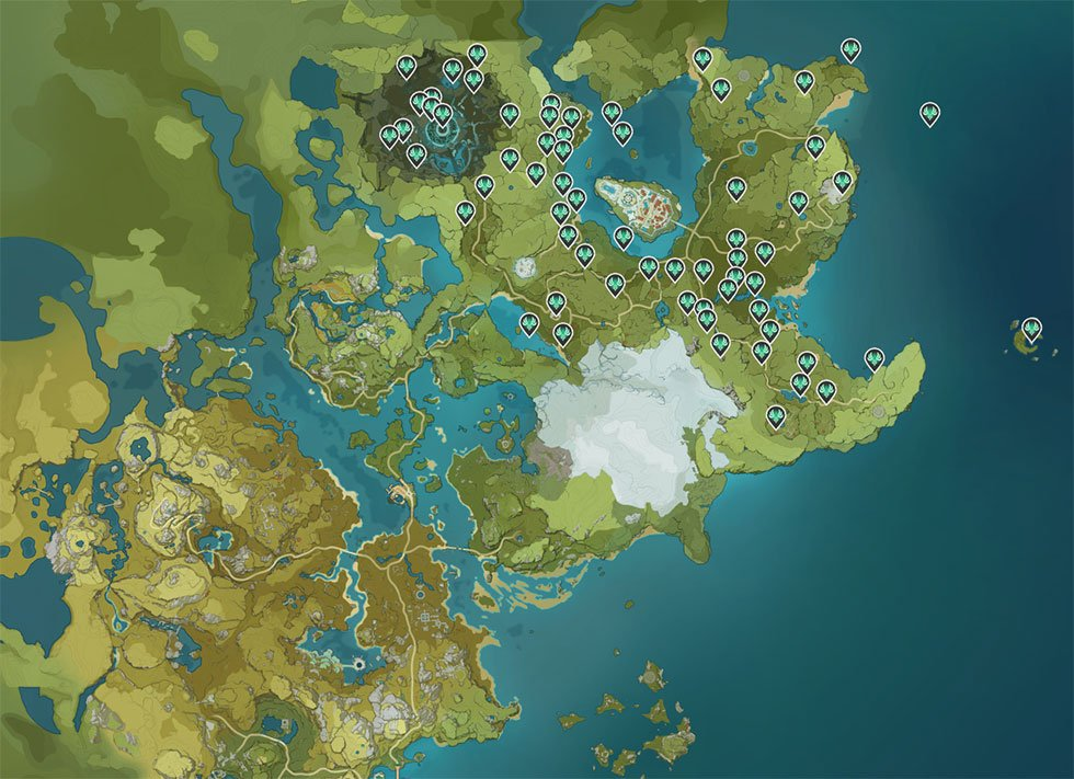 Genshin Impact | Localização de todos os baús, anemoculus, geoculus e muito mais 1