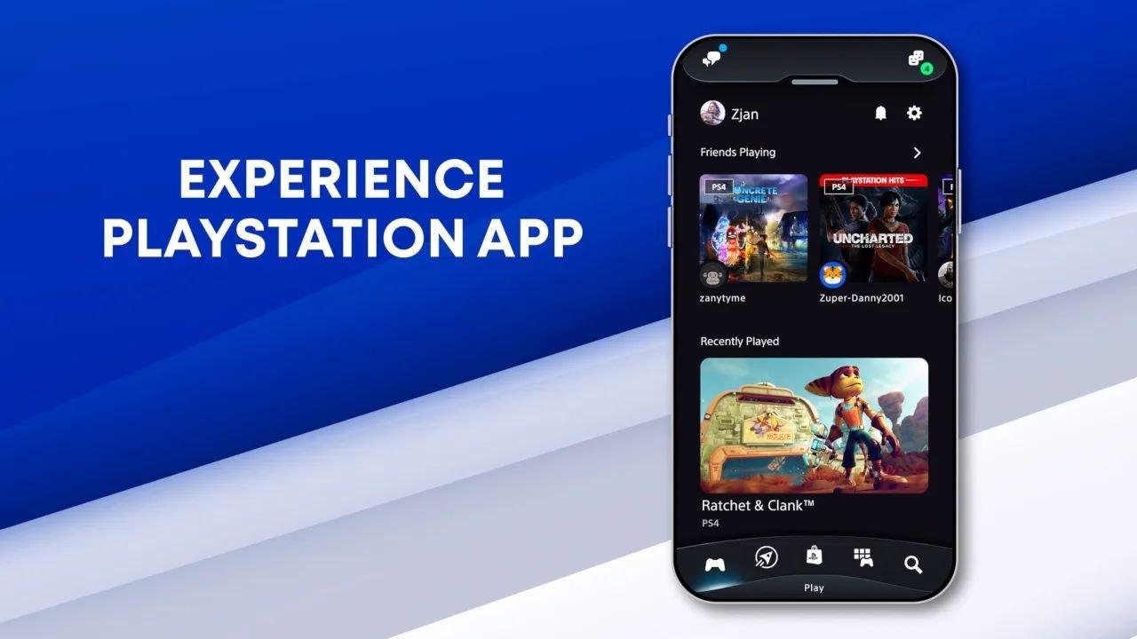 A Sony mostrou que também não se esqueceu do PlayStation App, ofereceno um redesenho total da interface do usuário e algumas novas funções.