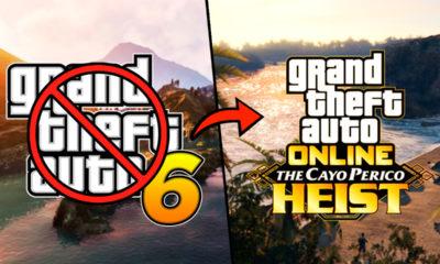 GTA 6 Nova DLC de GTA Online O Golpe de Cayo Perico vai atrasar o próximo jogo
