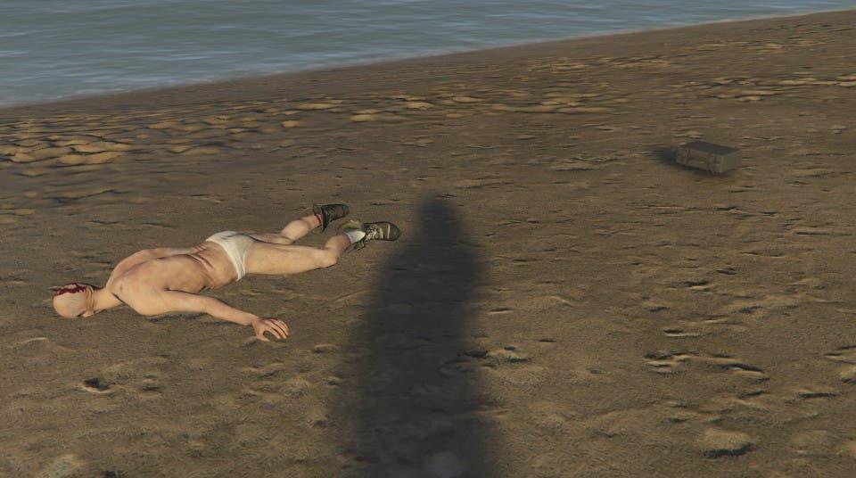 Cadáveres começaram a aparecer em GTA Online nas praias de Los Santos.