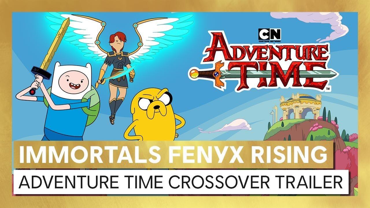 A Ubisoft lançou um novo trailer de Immortals Fenyx Rising, apresentando um crossover bastante improvável com a dupla Finn e Jake.